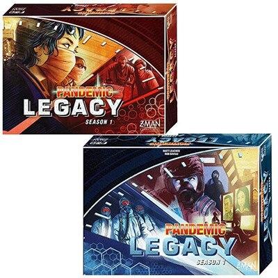 Pandemik Legacy kurulu oyunPandemik Legacy kurulu oyun
