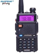 BaoFeng UV-5R портативная рация VHF/UHF 136-174 МГц и 400-520 Mhz Dual Band двухстороннее радио Baofeng ручной UV5R портативное Любительское радио