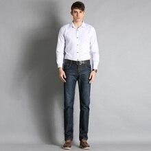 Men Classic Black Denim Jeans Stretch Slim Fit Denim Plus Size28 29 30 31 32 33 34 36 38  Full Long For Men's Jean