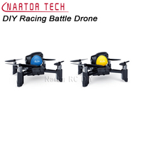 Newest Hot Nartor DIY Racing Battle Drone with Altitude Hold Battle Function One Key Landing 360 Degree Flip DIY Battle Drone