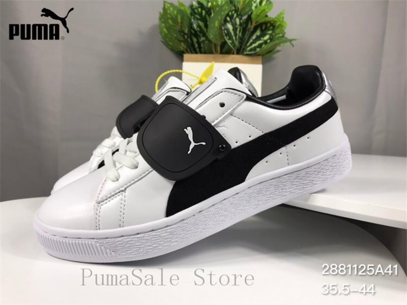 cb346a91974a 2018 PUMA x KARLLAGERFELD Men s Shoes Low Top White Sneaker 368071-01  Leather Lightweight Women