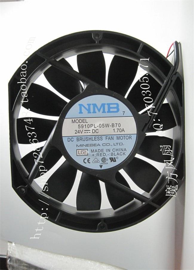 NMB 17025 24V 1.7A 5910PL-05W-B70 drive large air volume fan air o swiss filter matt 5910 в тюмени