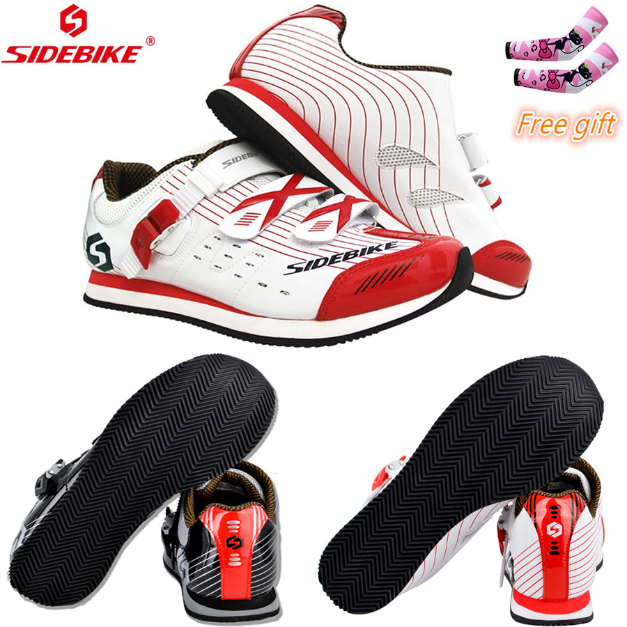 2019 NEW SIDEBIKE Cycling Shoes Mountain Black Red White Women Men Bike Shoes MTB Cycling Shoes