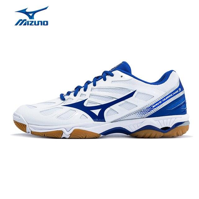 Mizuno Для мужчин Wave Hurricane 3 Ботинки волейбола Подушки спортивные Обувь дышащий стабильность Спортивная обувь v1gb174022 yxv007