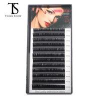 Thinkshow 10pcs/lot Low Price Korea Slik Handmade Eyelash Extension Fake Lashes Makeup Eyelashe False Lashes Eye Lash