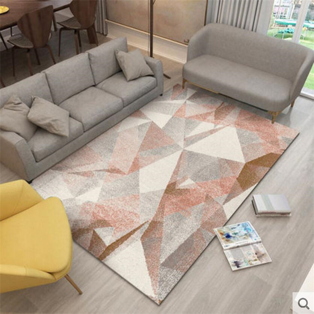 2018 new fashion nordic style large carpets for living room bedroom Bedroom Rugs