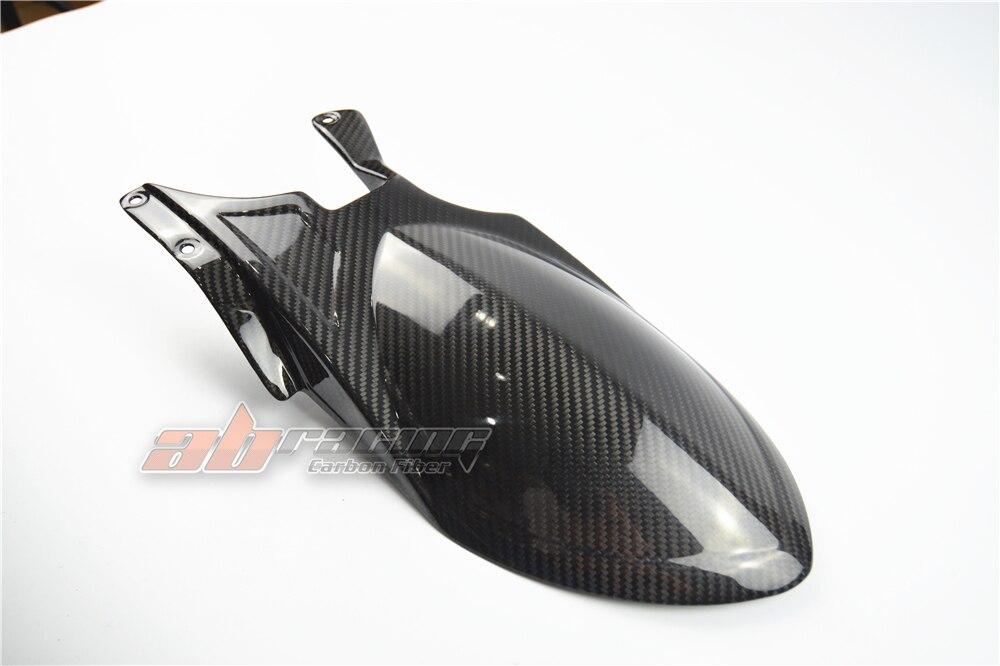 2007-2012 Ducati 1198 1098 848 Carbon Fiber Rear Hugger Long