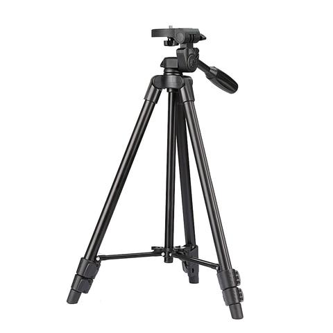 VCT-520 Tripod Professional Portable Monopod Travel Aluminium Camera Tripod/Accessories/Stand Dslr Camera Trepied Appareil Photo Pakistan