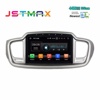 JSTMAX 10.1 Android 8.0 Car Audio Radio Stereo GPS Multimedia for Kia Sorento 2015 2016 4GB RAM Bluetooth WIFI USB Mirror link