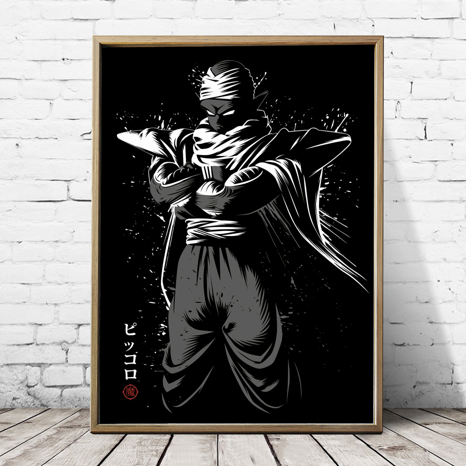 2019 Son Goku Vegeta Naruto Anime Posters And Prints Wall Art Canvas Painting Wall Pictures For Living Room Home Decor From Georgen 3612
