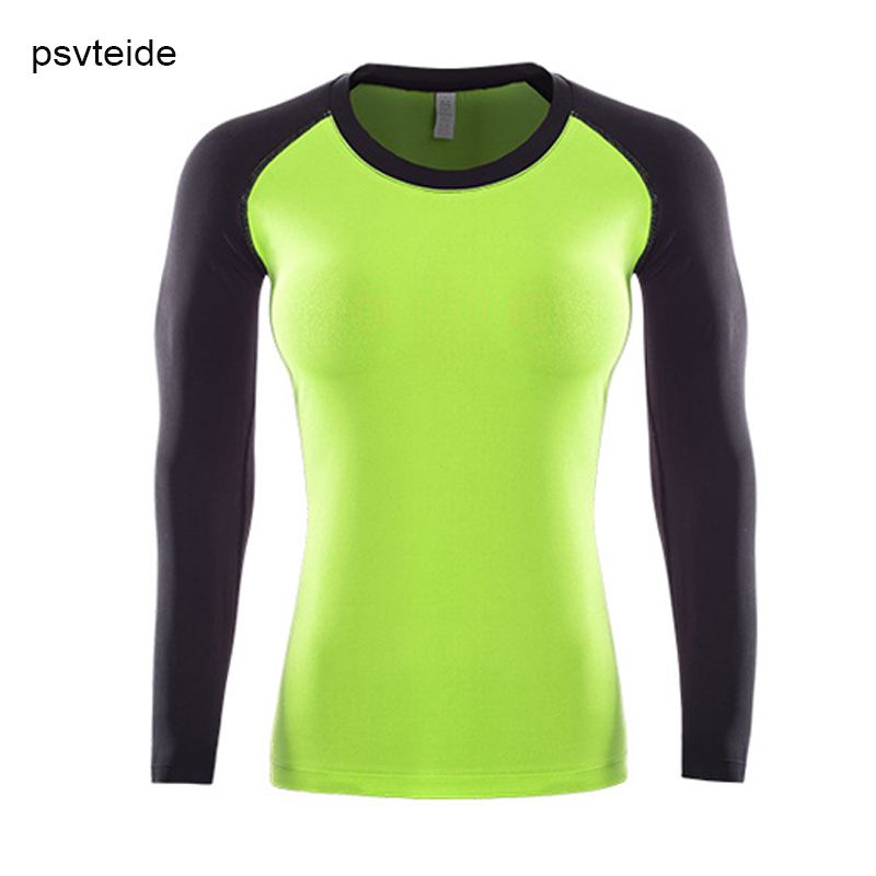 US Women/'s Compression Base Layer Top Gym Yoga Athletic Tee Long Sleeve T-Shirt