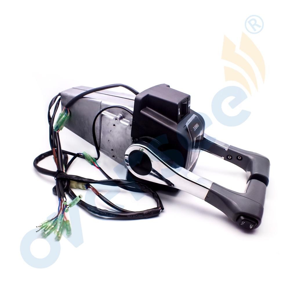 67200 92E15 Remote Control Box Assy Twin Handle For Suzuki Outboard Motor DF90 DF100 DF115 DF140