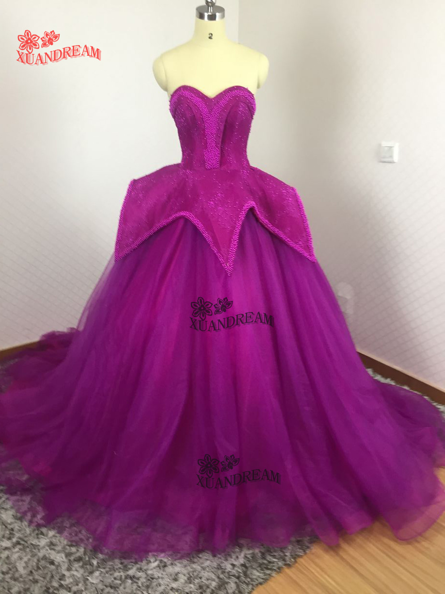 100 real made heavy beads elegant popular prom gown for party vestidos curtos de baile puffy