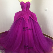 XUANDREAM 100% real made heavy ball gowns prom dresses