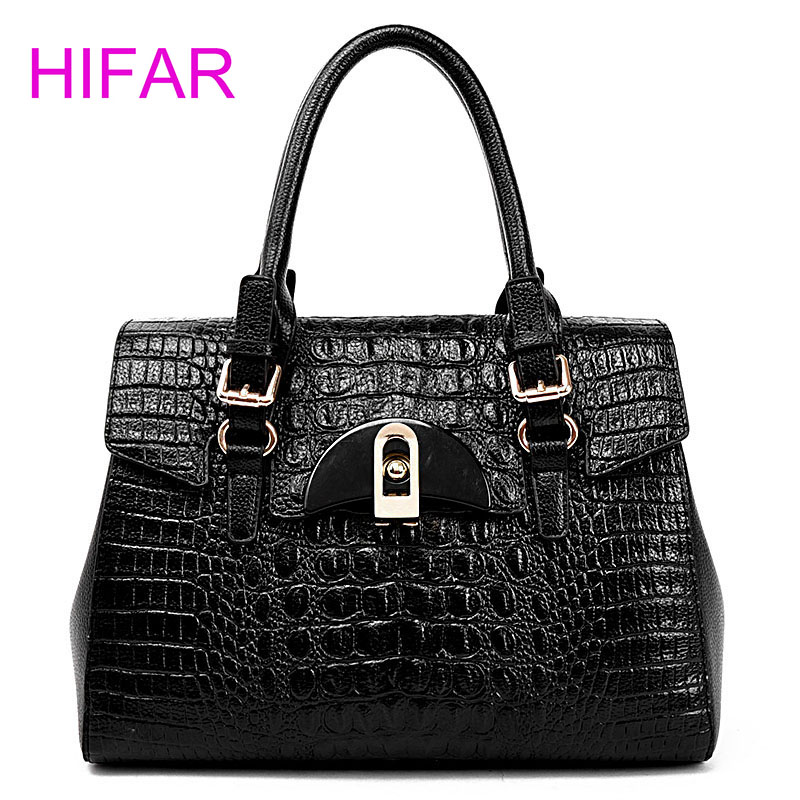 2016Fashion Alligator Handbags High Quality Women Leather Handbags Luxury Famous Designer Brand Crossbody Bags Bolsas Femininas fashion casual michael handbag luxury louis women messenger bag famous brand designer leather crossbody classic bolsas femininas