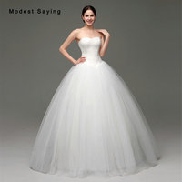 Classic White Ball Gown Sweetheart Lace Wedding Dresses 2017 Formal Women Long Church Puffy Bridal Gowns