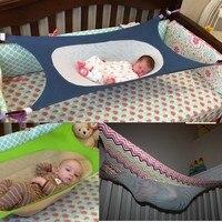 2017 New Swing Folding Cot Bed For Newborn Folding Baby Crib Portable Beds Travel Playpen Hammock