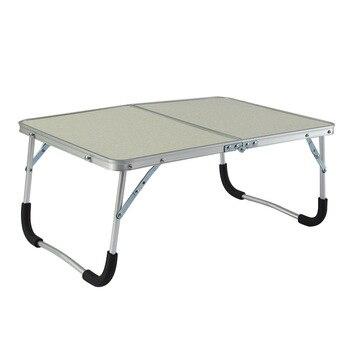 Mesa plegable de aleación de aluminio cama Simple Escritorio de ...