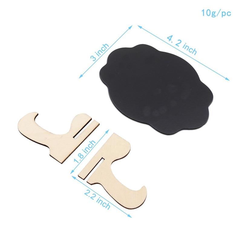 madeira pequena quadro clipe blackboard número da