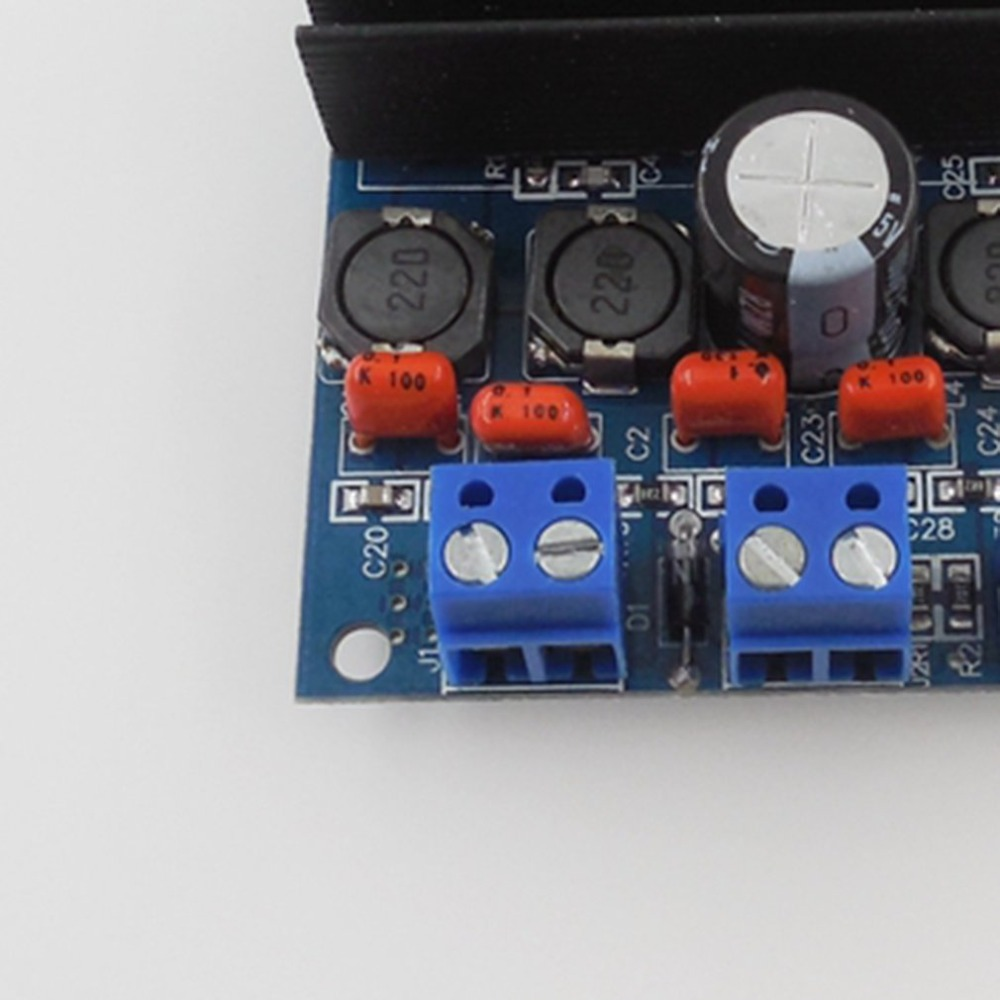 Hw 259 Tda7492 High Power Digital Amplifier 50w2 100w Audio Circuit Board Blue Silver Connected Bridge And Over Ta2024 In Motion Plus From Consumer Electronics On