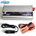 Carregador de Carro TBE 1500 W DC 12 V 24 V para AC 110 V 220 v modificado Sine Wave Power Inverter Início Conversor Adaptador USB Auto Transformador