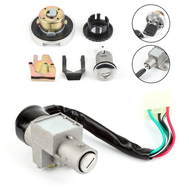 Key Ignition Switch Lock IZTOSS 5 Wire Scooter Ignition Switch ...