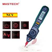 Mastech MS8212A Professional Multimetro Pen Type Non Contact Voltage AC DC Voltage Current Tester Multimetro Diode