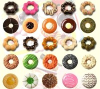 Industrial Mini Donut Machine For 9 Pcs Per Time Baked Used Donut Machine