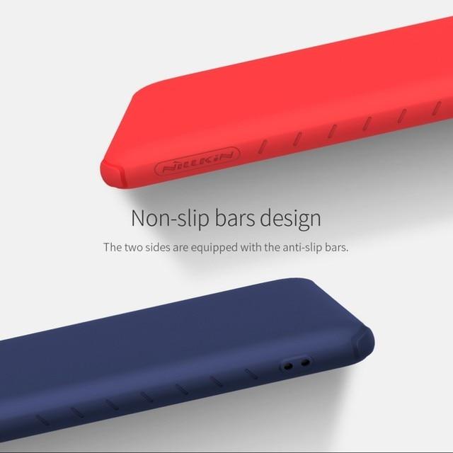 NILLKIN Rubber Wrapped Protective Case For Xiaomi Redmi K20/K20 Pro Mi 9T 9T Pro Slim Soft Liquid Silicone Shockproof Phone Bag 5