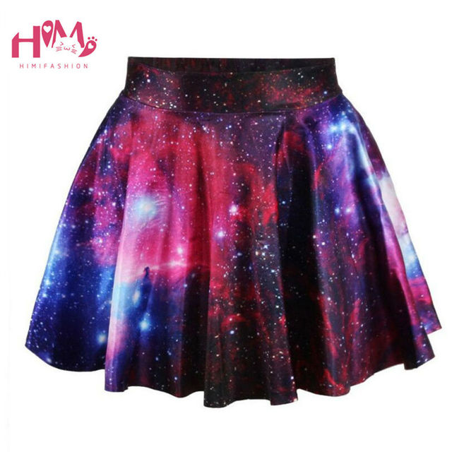 33cb6311361ef US $16.01 11% OFF J fashion Harajuku Starry Universe Gradient Color Skirt  Soft Sister Cute Galaxy Skirt Girls Fashion Hot Selling Clothes Female-in  ...
