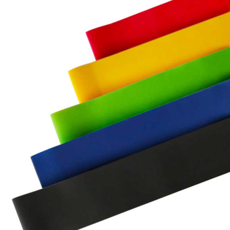 Zespoły oporu gumka 5 poziomów trening Crossfit sprzęt Fitness Pilates Sport trening siłowy sportowe gumki recepturki