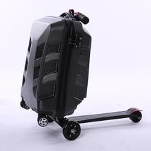 Equipaje de viaje fantástico con patín King Kong maleta Rolling Trolley Equipaje de equipaje