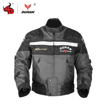 DUHAN Motocross Off-Road Racing Jacket Motorcycle Jackets Body Armor Protective Moto Jacket Motorbike Windproof Jaqueta Clothing