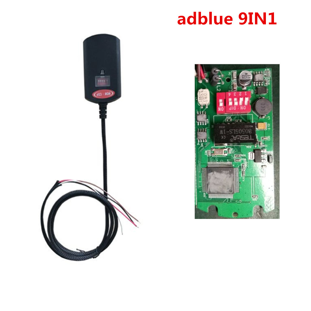 Hot!!! Newest Adblue 9 in 1 A&B CHOOSE Universal Adblue Emulator NOT NEED ANY SOFTWARE ablue 9in1 Truck AdBlue Emulation Box 10 pcs hot new arrival truck adblue obd2 renault def nox emulator via obd2 adblue obd2 for renault dhl free