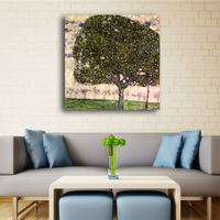 Cheap Peinted Oil Painting Wall Painting Golden Apple Tree Gustav Klimt Painting On Canvas Famous Wall