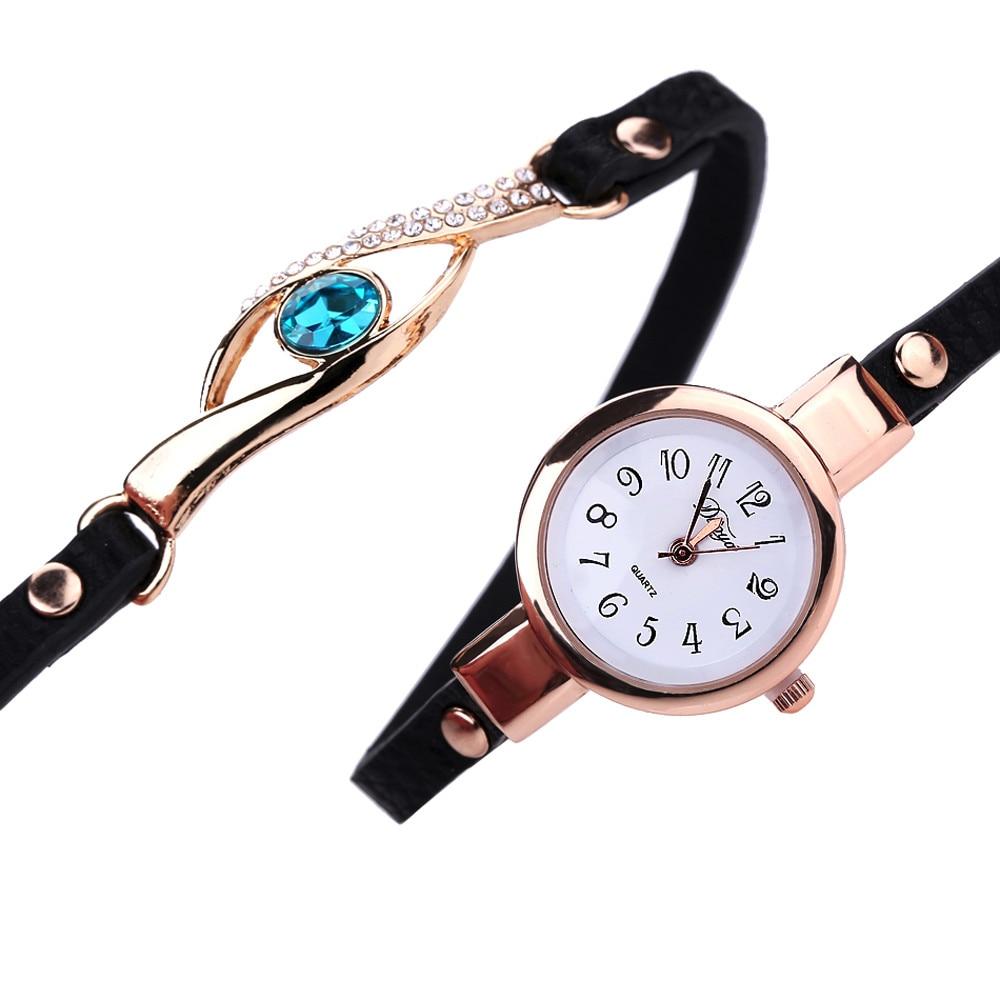 Ladies Bracelet Watch - black 2