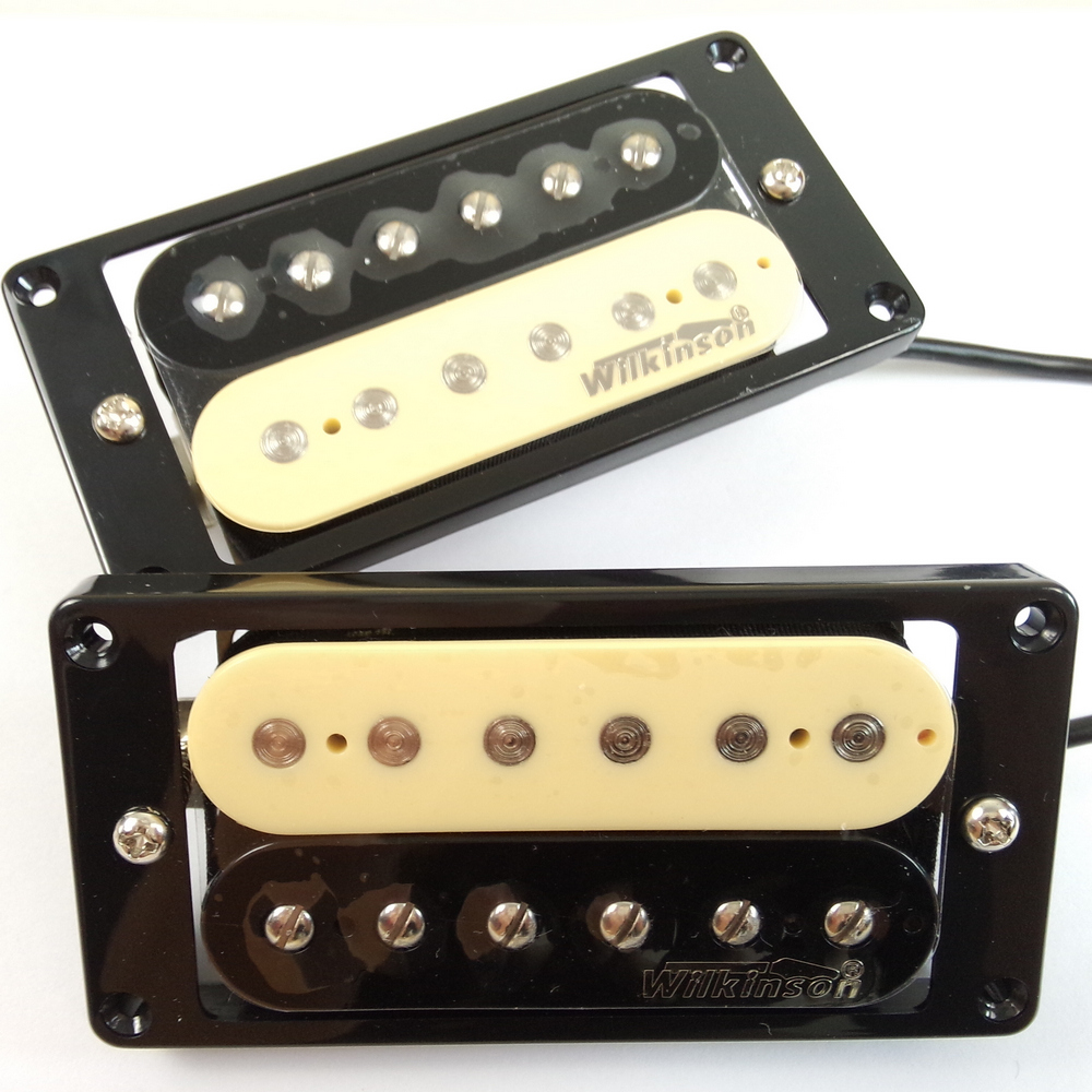 Electric guitar Humbucker pickup zebra pick-up Wilkinson WVHZ Humbuckers Pickups original Wilkinson Pickups Made In Korea new 8 strings electric guitar pickup in black made in south korea art 33