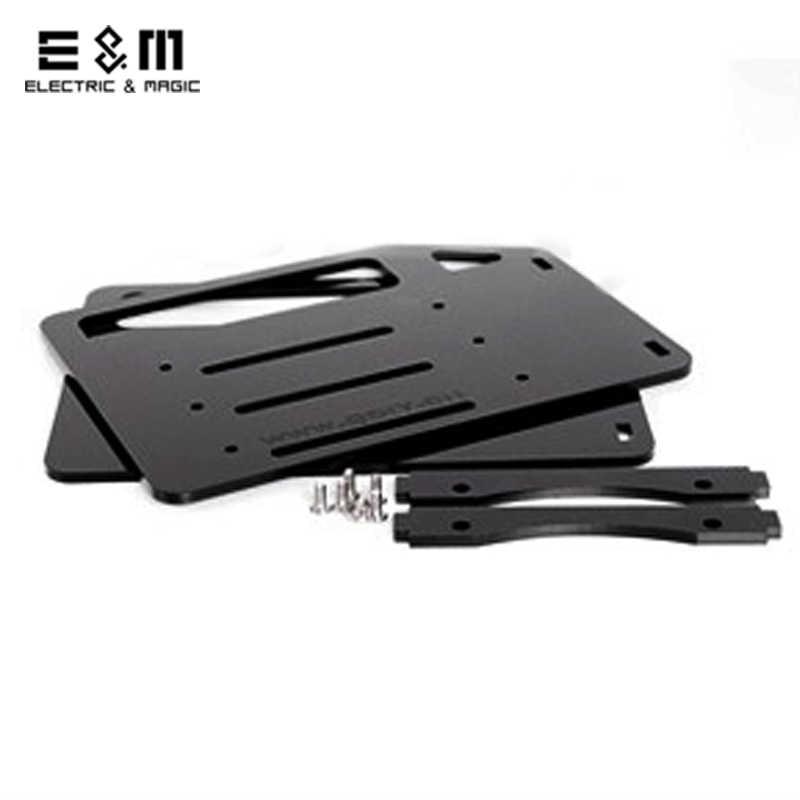 DIY קשיח דיסק מדף אקריליק שחור שקוף צבע 3.5 אינץ HDD מארז עבור 3 4 6 10 דיסק קשיח נייד hardisk עם סט כלים