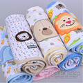Free delivery baby newborn infant with spring and summer cotton blankets knitted cotton quilt towel scarf 100% cotton