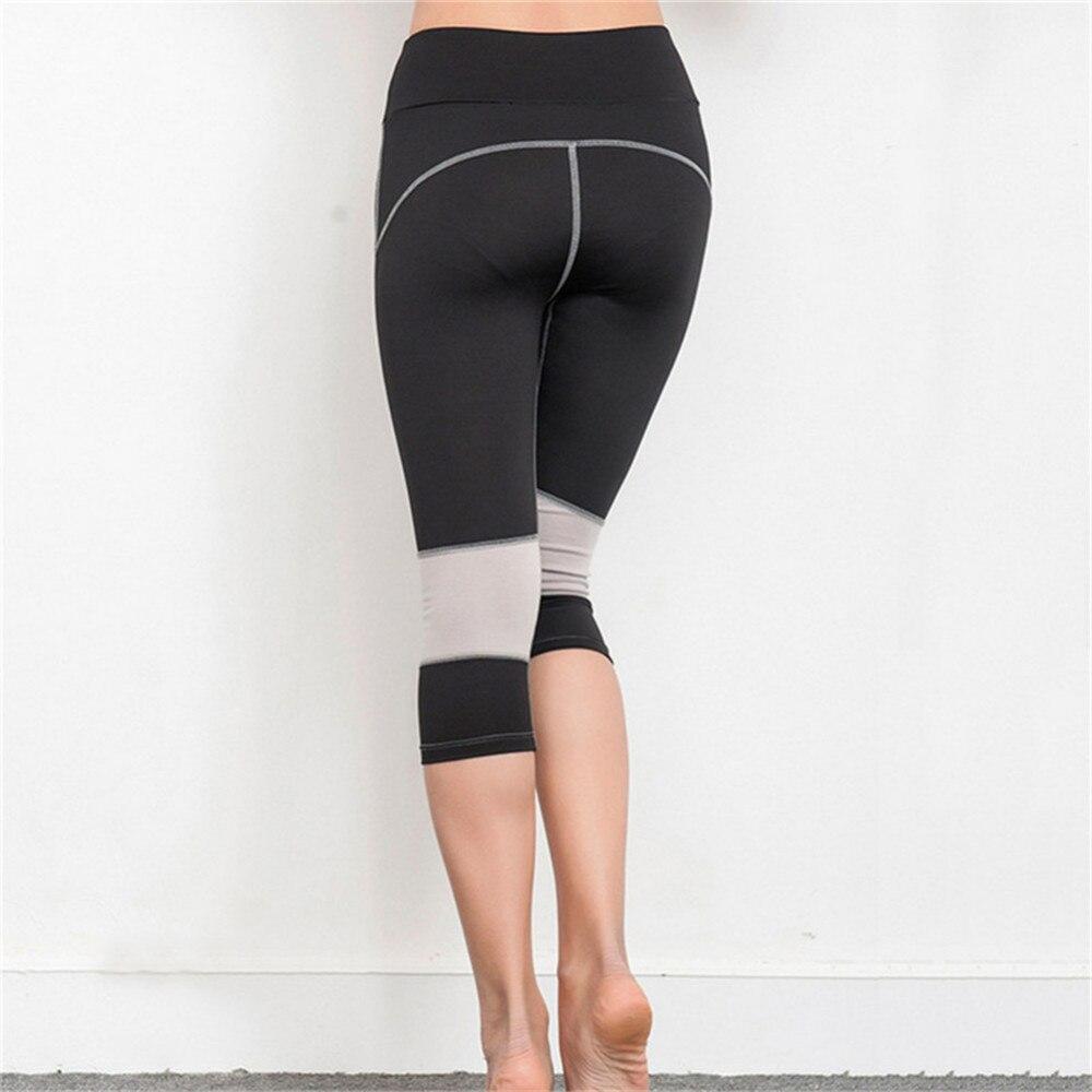 Women's High Waist Capri Leggings