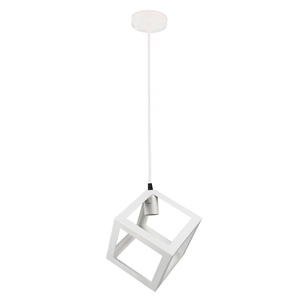Iron Light Bulb Cage Hanging Lamp Shade Light Pendant Cover Pipeapple