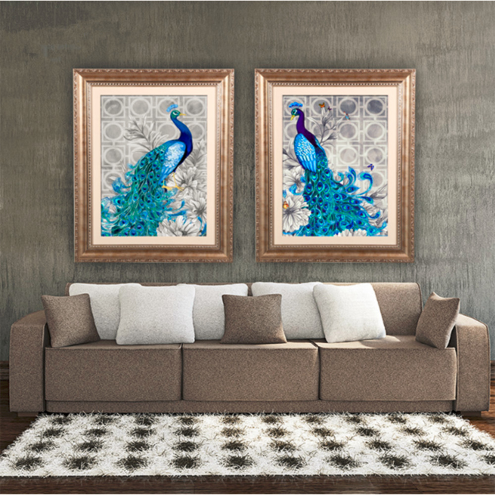 Peacock Color Living Room Online Buy Wholesale Peacock Bedroom Decor From China Peacock