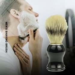 Мягкая кисть Мужская щетка для бритья качество Mane Hu Освежающая портативная высококачественная кисть для бороды кисти косметические