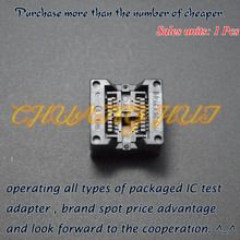 208mil SOP8 test socket SOIC8/SOP8 OTS-8(20)-1.27-01 ic 5.4mm Width 1.27mm Pitch