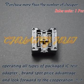 208mil SOP8 test socket SOIC8/SOP8 OTS-8(20)-1.27-01 ic socket 5.4mm Width 1.27mm Pitch irf8736 f8736 sop8
