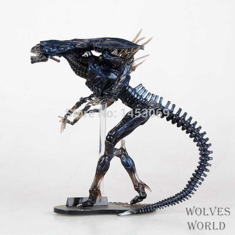 Free Shipping SCI-FIRECOLTECK Aliens Series No.018 Alien Queen Action Figure Collectible Model Toy 32cm KT4197 цена