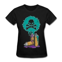 100 % Cotton Toxic Lady t shirt Cheap Sale Funny Woman t shirts