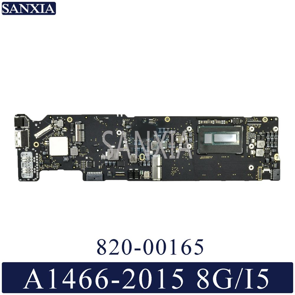 KEFU 820-00165 Laptop Motherboard For Apple Macbook Air A1466 2015 Original Mainboard 8G-RAM I5-CPU