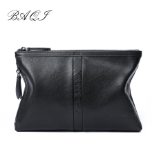 BAQI Brand Men Wallets Clutch Bag Men Handbag 2019 Fashion Genuine Cow Leather High Quality Men Ipad Phone Bag Purse Casual Male p kuone genuine leather clutch bag 2018 fashion high quality top men wallets luxury brand purse messenger handbag long wallet