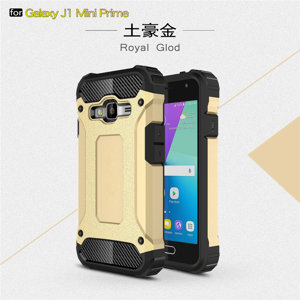 A.spanice J1 Mini Prime Case Hybrid Durable Shield Armor Rugged Shockproof Back Cover For Samsung Galaxy J1 Mini Prime J106H